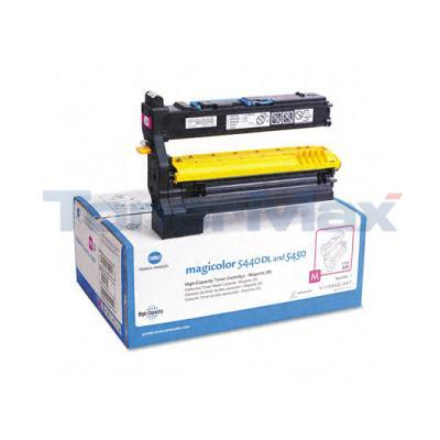 KONICA MAGICOLOR 5440DL TONER CTG MAGENTA 12K